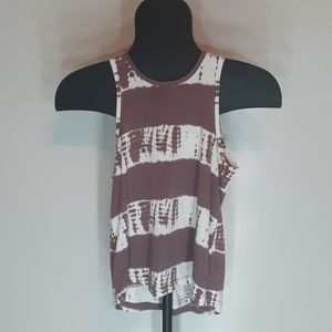Burgandy Tank Top